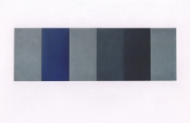 untitled_a_h_2003_mixed_media_on_wood_40_x_120_cm_6_panels_40_x_20_each