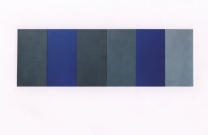 untitled_g_h_2003_mixed_media_on_wood_40_x_120_cm_6_panels_40_x_20_each